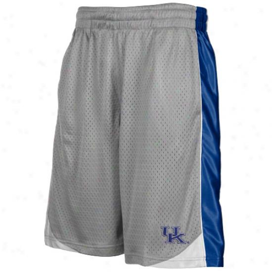 Kentucky Wildcats Gray Vector Workout Shorts