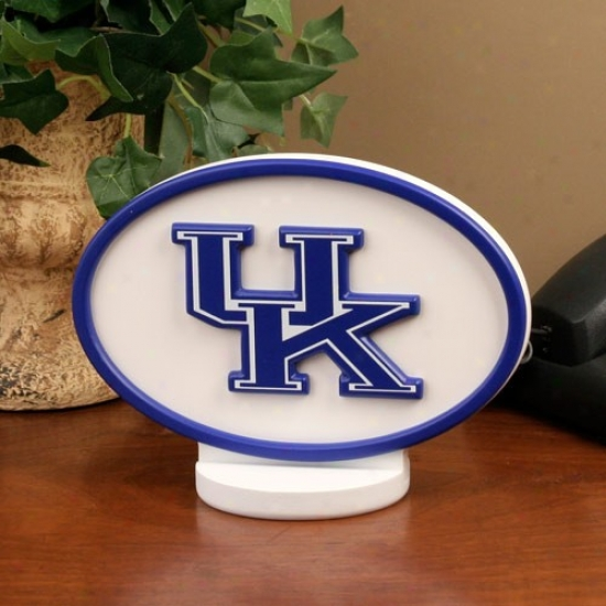 Kentucky Wildcats Logo Desk Art