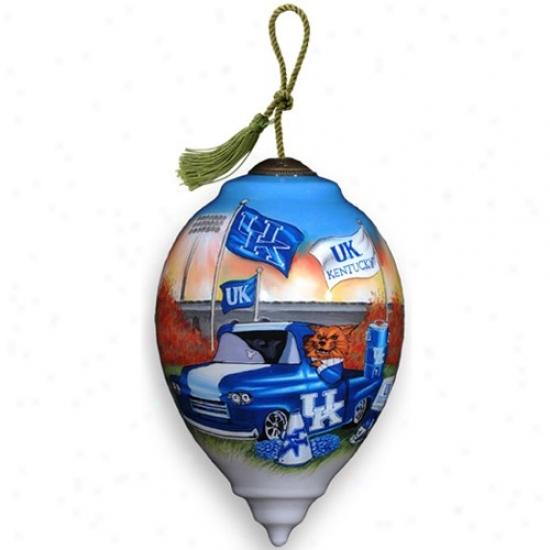 Kentucky Wildcats Ne'qww Art Design Ornament