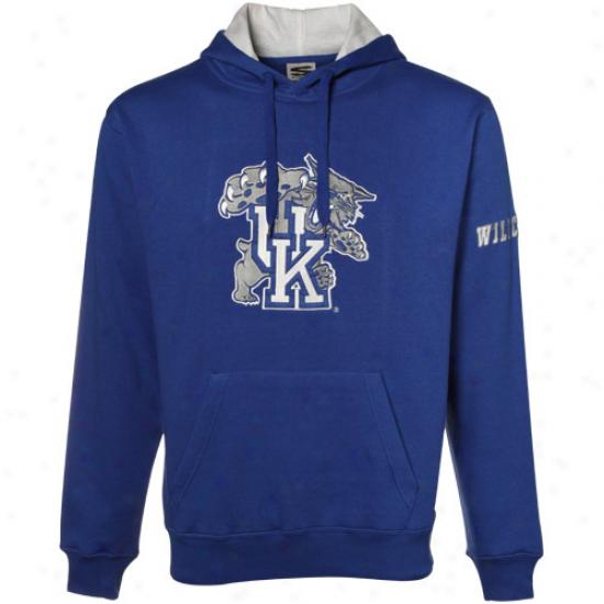Kentucky Wildcats Sweat Shirt : Kentucky Wildcats Royal Blue Classic Twill Sweat Shirt