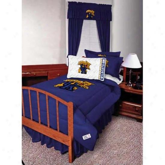 Kentucky Wildcats Twin Size Bed Skirt