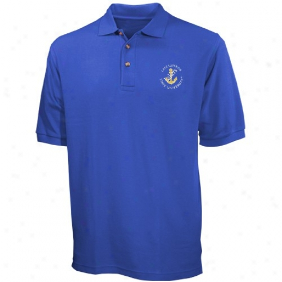 Lake Superior State Lakers Clothes: Lake Superior State Lakers Light Livid Team Logo Polo