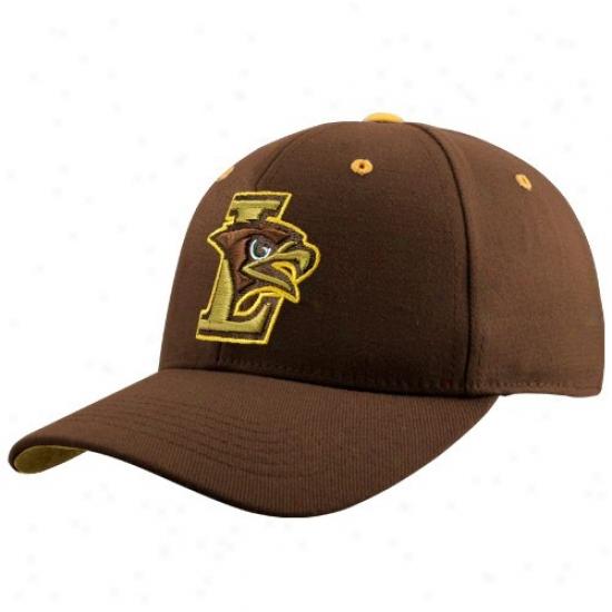 Lehigh Mountain Hawks Cap : Top Of Ths Universe Lehigh Mount Hawks Brown Team Logo One-fit Cap