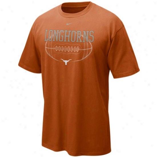 Longhorn  Attire: Nike Longhorn  Focal Orange Quarterback Draw T-shirt