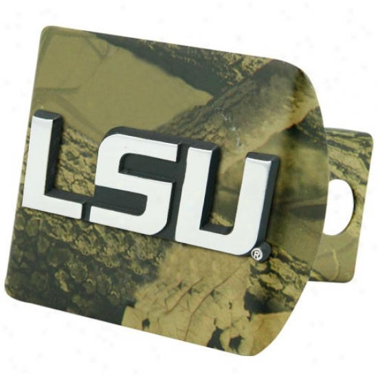 Lsu Tigers Camo Trailer Hitch Cover