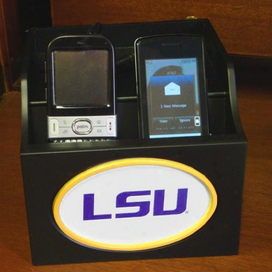 Lsu Tigers Collegiate Logo Charging Station