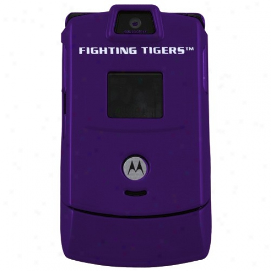 Lsu Tigers Purple Razor Protective Cell Phone Cover