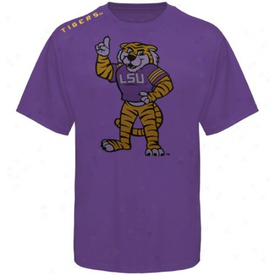 Lsu Tkgers Shirt : Lsu Tigers Purple Phantom Shirt