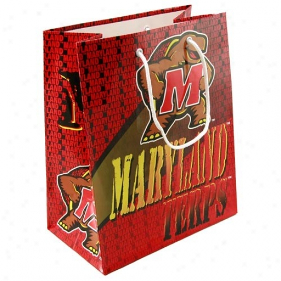 Maryland Terrapins Team Logo Gift Bag