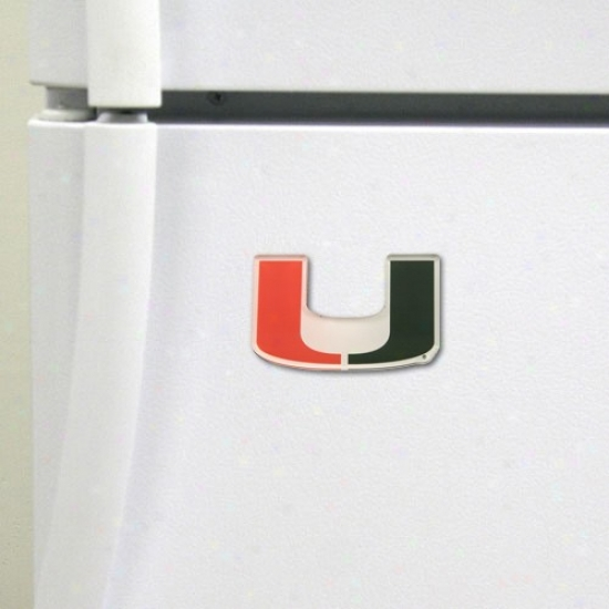 Miami Hurricanes Highh Definition Magnet
