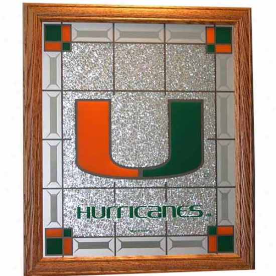 Miami Hurricanes Wall Plaque
