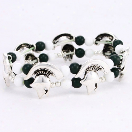 Michigan State Spartans Double Stretch Bracelet
