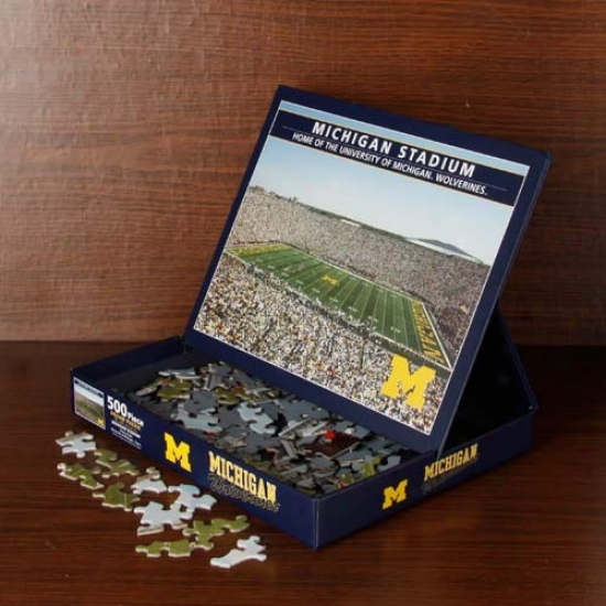 Michigan Wolverines 500-piece Stadium Puzzle
