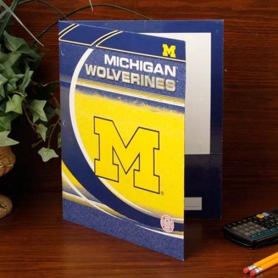 Michigan Wolverines Folder