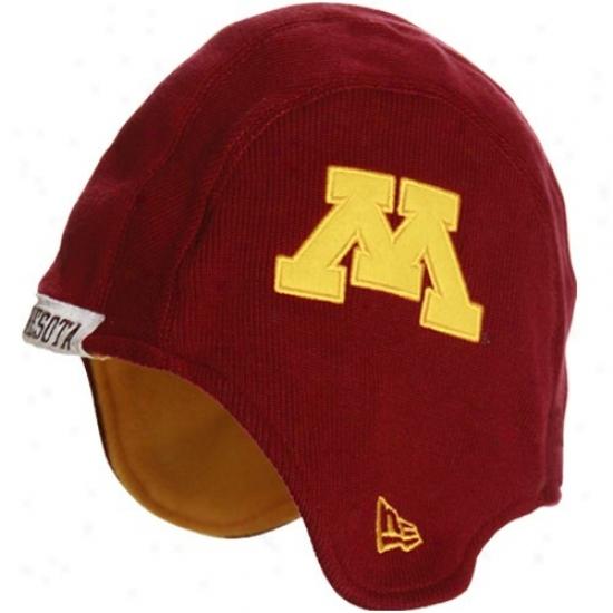 Minnesota Golden Gophers Hat : New Era Minnesota Golden Gophers Maroon Pigskin Flapper Cardinal's office