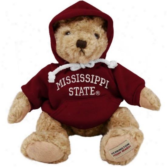 Mississippi State Bulldogs 13'' Hoody Bear Plush