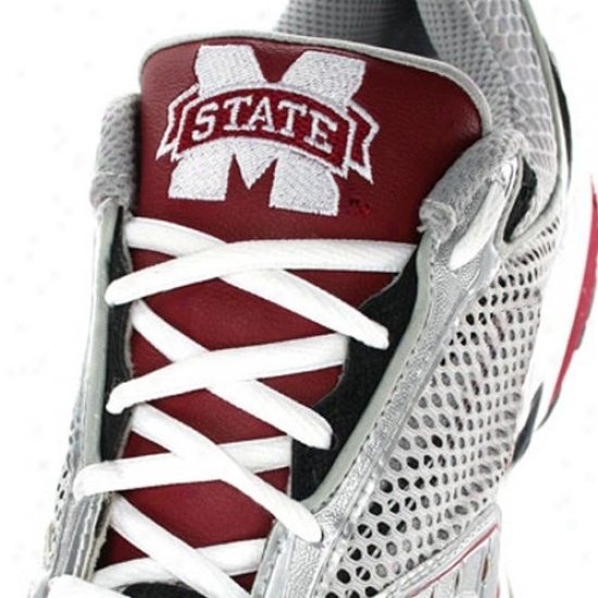 Mississippi State Bulldogs Maroon Zungz Sneaker Tongue Covers