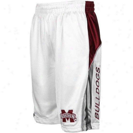 Mississippi State Bulldogs Happy Patriot Workout Shorts