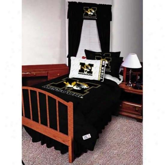 Missouri Tigers Queen Size Sheet Set
