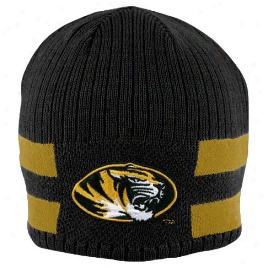 Mizzou Tiger Hat : Nike Mizzou Tiger Youth Black Reversible Knit Beanie