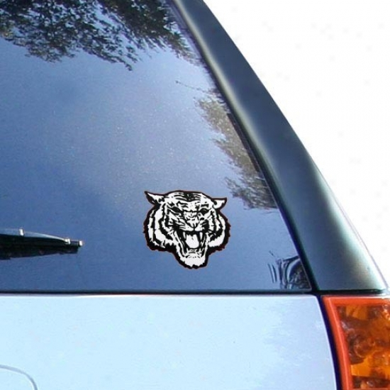 Morehouse Maroon Tigers Team Ligo Car Decal