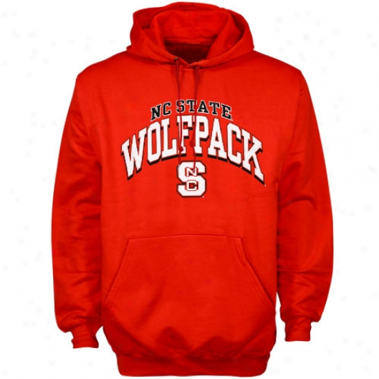 Nc National Wolfpack Fleece : North Carolina State Wolfpack Red Arched Fleece