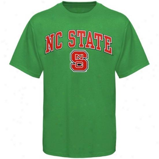 Nc National Wolfpack Shirt : North Carolina State Wolfpack Kelly Green St. Patrick's Day Shirrt