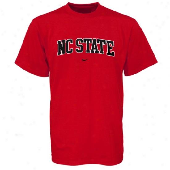 Nc State Wolfpack Shirts : Nike North Carolina State Wolfpack Red Youth Classic College Shirts