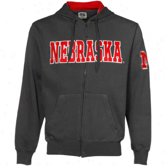 Nebraska Huskers Edge Pullover Hoodie - THE PRODUCTS