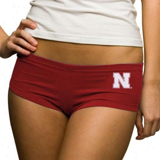Nebraska Cornhuskers Ladies Scarldt College Hot Shorts