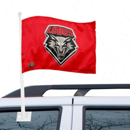 New Mexico Lobos Bannere : New Mexico Lobos Cherry Car Banners