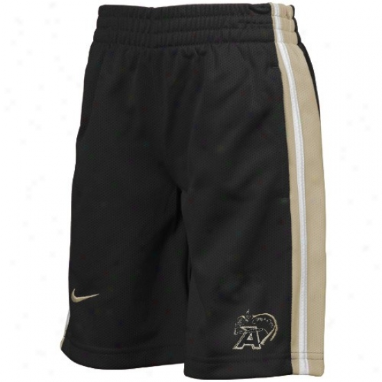 Nike Army Black Knights Preschool Black Classic Mesh Shorts