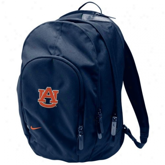Nike Auburn Tigers Coore Navy Blue Backpack