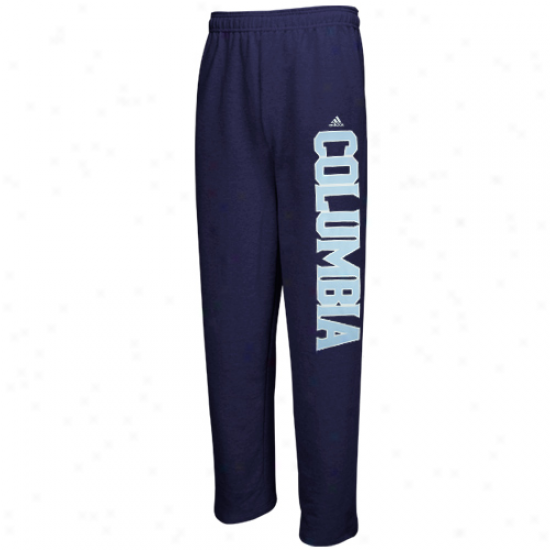 Nike Columbia University Lions Navy Blue Word Plus Fleece Sweatpants