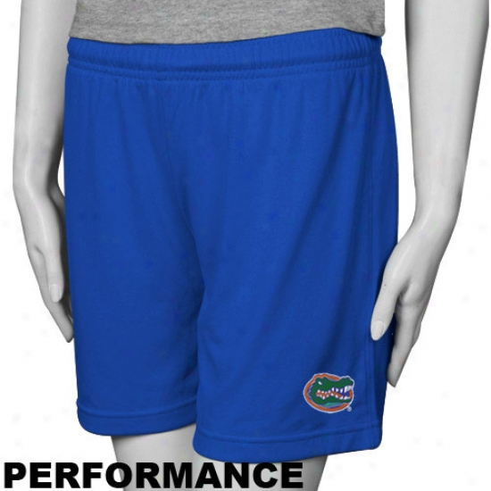 Nike Florida Gators Ladies Royal Blue College PerformanceS horts
