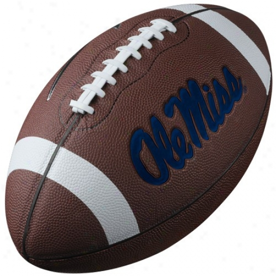 Nike Mississippi Rebels 12'' Official Replica Football