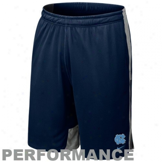 Nike North Carolina Tar Heel s(unc) Navy Blue Zoom Fly Training Performance Shorts