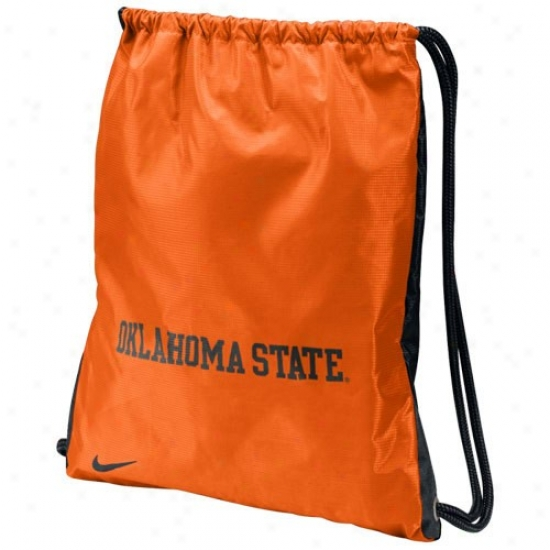 Nike Oklahoma State Cowboys Orange-black Home & Away Gym Bag