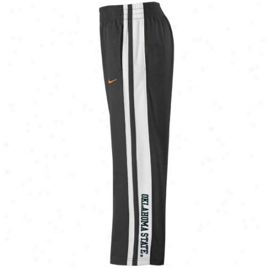 Nike Oklahoma State Cowboys Preschool Black Striped Training Pants