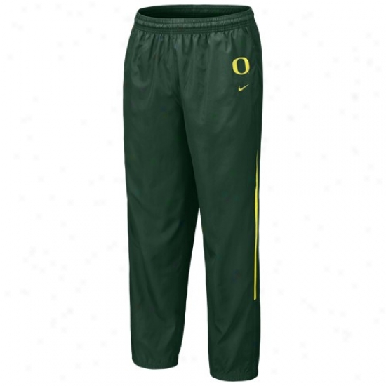 Nike Oregon Ducks Green 5th Year Windpants