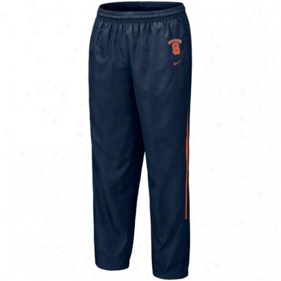 Nike Syracuse Orange Navy Blue 5th Year Windpants