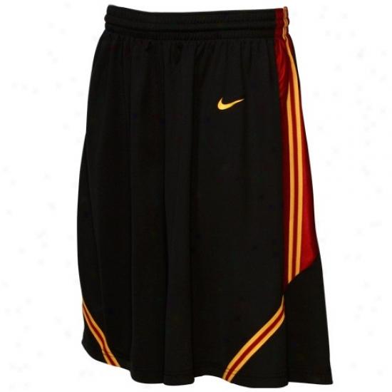 Nike Usc Trojans Black Replica Basketball Shorts