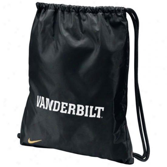 Nike Vanderbilt Commodores Black Home & Away Gym Bag