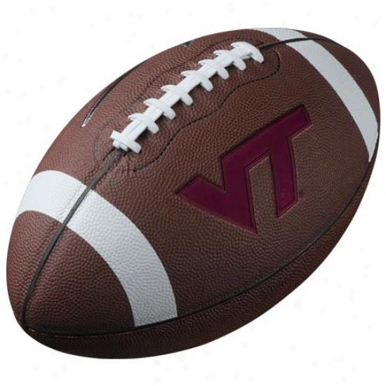 Nike Virginia Tech Hokies 12'' Official Replica Flotball
