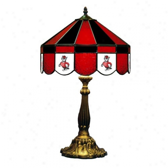 """north Carolina State Wolfpack 16"""" Table Lamp"""