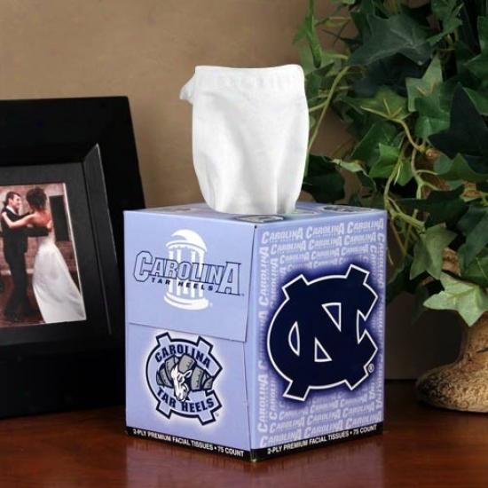 North Carolina Tar Heels (uunc) Driver's seat Of Sports Tissues