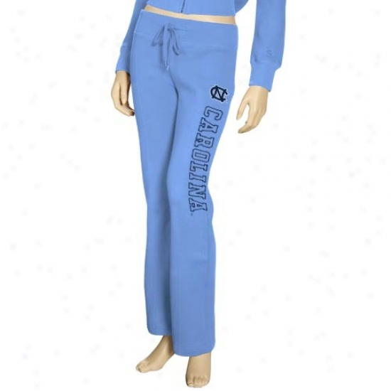 North Carolina Tar Heels (unc) Ladies Carolina Blue Academy Fleece Pants