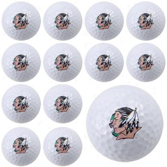 North Dakota Contention Skoux Dozen Collection Golf Balls