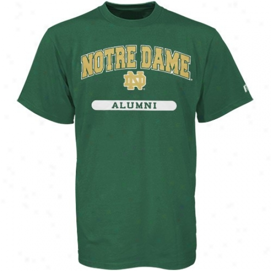 Ohio bobcats dimension wall clock the web sport world for Notre dame tee shirts
