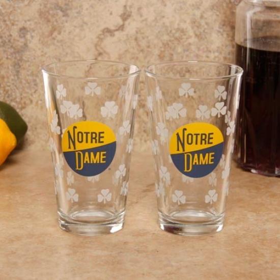 Notre Dame Fighting Irish 2-pack 16oz. Vault Pint Glasses